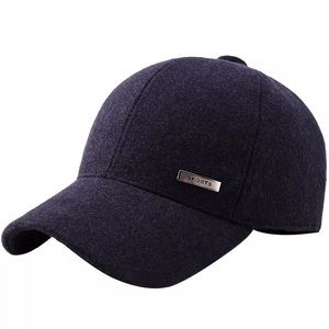 Dark navy sports baseball caps
